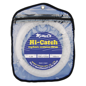 HI-CATCH NYLON LEADER COILS Ø 0,85MM 80LB [Momoi]