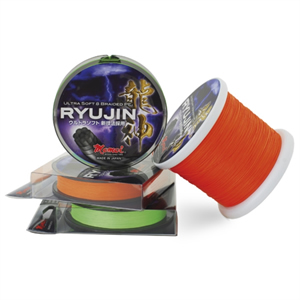 RYUJIN ULTRA SOFT 8 BRAIDED PE ARANCIO 300MT [Momoi]