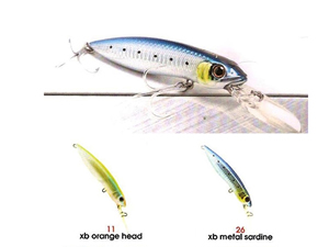 HEAVY DUTY MINNOW 120 F/DR [X-bait]