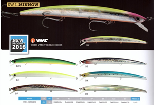 SEASLICKER LONG MINNOW 180 [Jatsui]