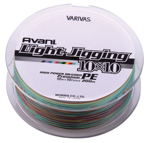 AVANI LIGHT JIGGING 10X10 1.5PE 16LB [Varivas]