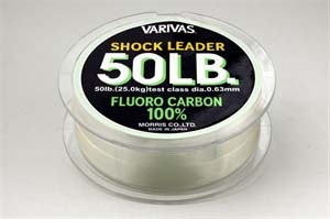 SHOCK LEADER FLUORO CARBON 30MT. 70LB DIAMETRO 0.74MM [Varivas]