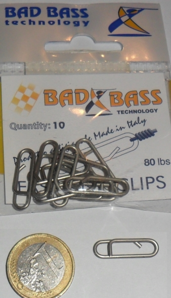 Fast link clips 80lbs