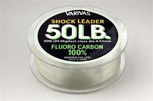 SHOCK LEADER FLUORO CARBON 30MT. 50LB DIAMETRO 0.63MM